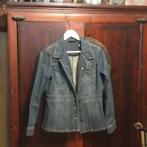 Very unique jean jacket. So cool